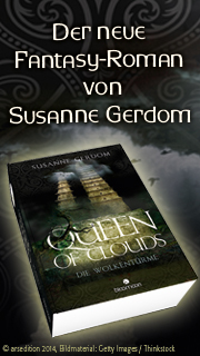Queen of Clouds - der neue Fantasy-Roman von Susanne Gerdom