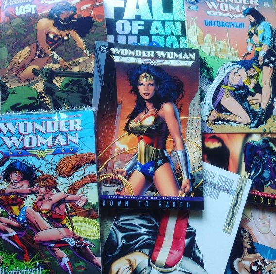 Wonder Woman Comics diverse