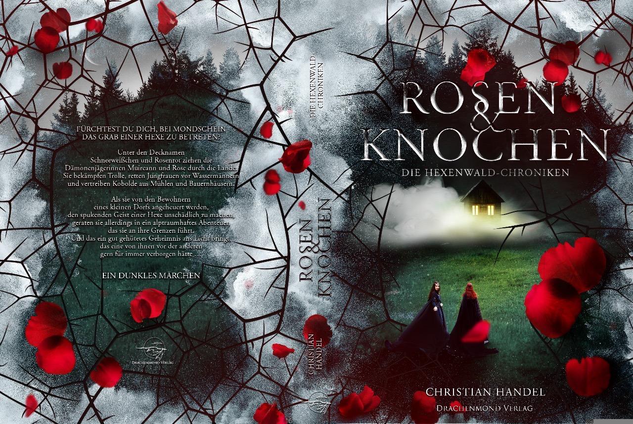 Rosen und Knochen - Umschlag