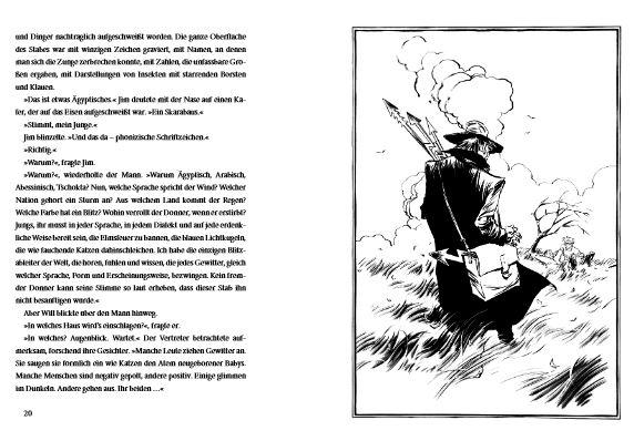 Illustrationen zum Buch Ray Bradbury