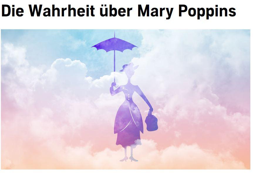 Mary Poppins im Hörbuch