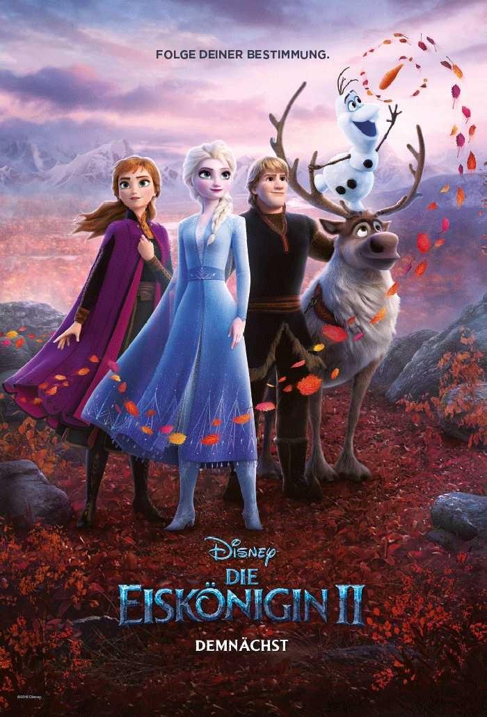 Frozen 2 Kinoplakat